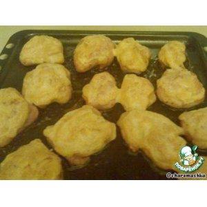 Рецепт: Фаршированные куриные шкурки