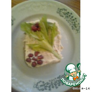Рецепт: Сырно-крабовый  крем