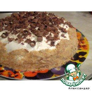 Рецепт: Торт Прелесть