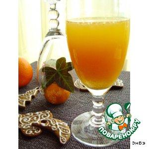 """Рецепт: Морковно-апельсиновый нектар  """"Orange life"""""""