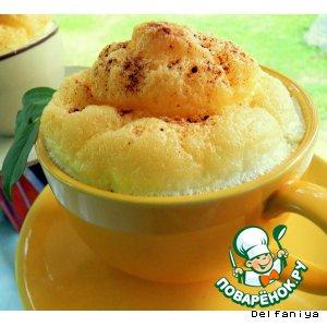 """Рецепт: Луково-нутовый суп """"Под облаком"""""""