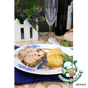 Рецепт: Свиная вырезка в ореховой панировке