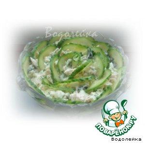 "Рецепт: Салат ""Зеленая роза"""