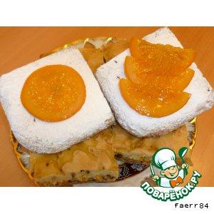 Рецепт: Апельсиновая коврижка