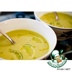 Рецепт: Суп-пюре из авокадо