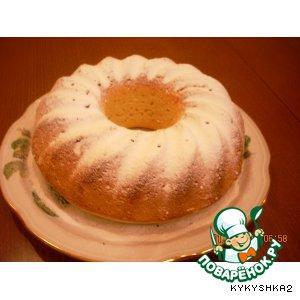 Рецепт: Кефирный кекс