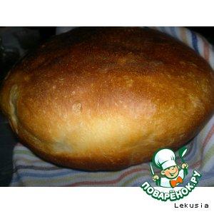 Рецепт Белый пшеничный хлеб