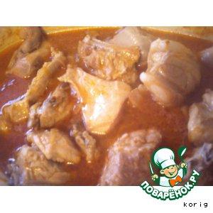 Рецепт: Телячьи ребрышки в соусе