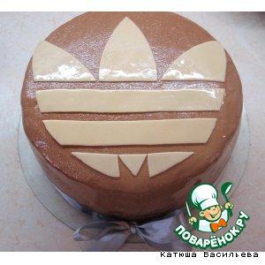 Тортик Адидас