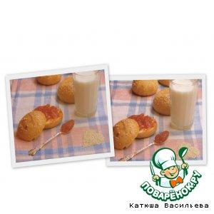 Рецепт Творожные булочки к завтраку