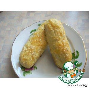Рецепт: Сосиски в картофельном тесте
