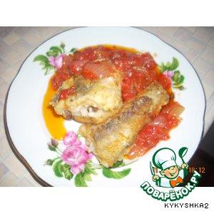 Рецепт: Рыба в томате