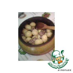 Рецепт: Картофель по-пански