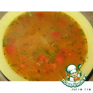 Рецепт: Суп Харчо упрощeнный