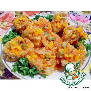 Рецепт: Холодная рыба в остром соусе