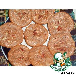 Рецепт: Яблочные кексы с корицей