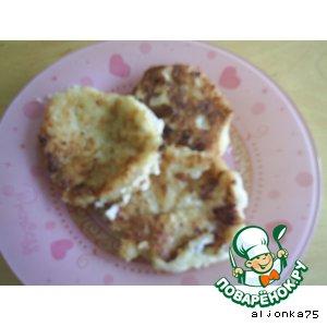 Рецепт: Сырники яблочно-коричные