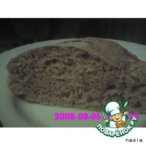 Рецепт: Хлеб белый с отрубями