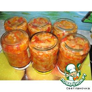 Рецепт: Салат Cолянка