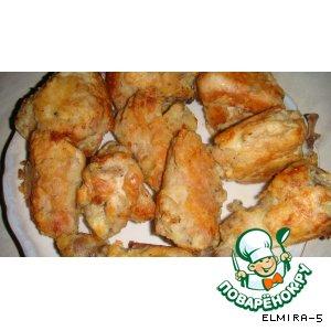 Рецепт: Курица в кляре