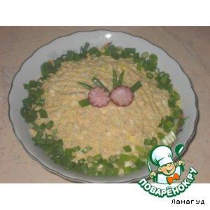 Рецепт: Рыбный салат