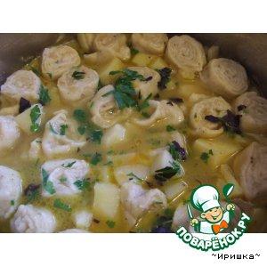 Рецепт: Картофель по-сибирски