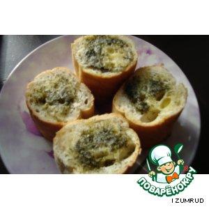 Рецепт: Хлебушек для первых блюд