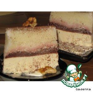 Рецепт: Десерт «Ароматная дынька»