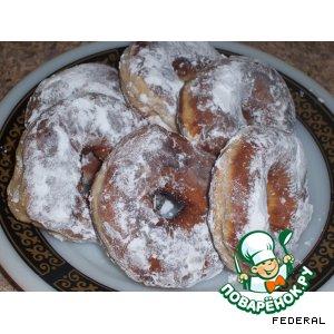 Рецепт: Тающие пончики