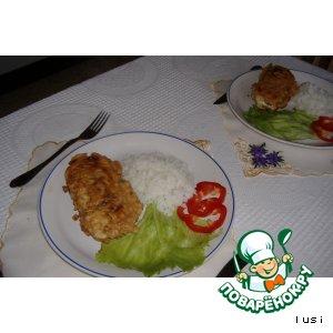 Рецепт: Рулетики из красной рыбы