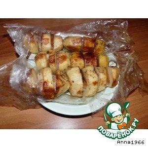 Рецепт: Картошка, запеченная в рукаве