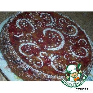 Рецепт: Вишнeвый пирог