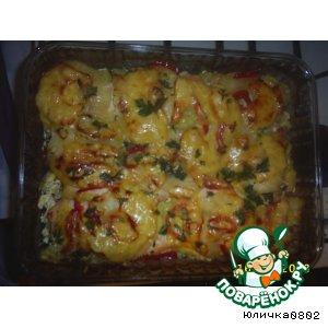 Рецепт: Горячее из курицы Дипломат
