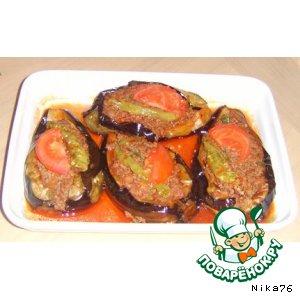 Рецепт: Карны ярык-баклажаны фаршированные