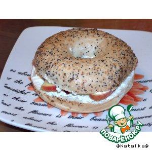 Рецепт Багель на завтрак