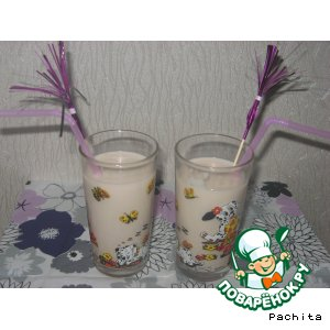 Рецепт: Молочный коктейль с маршмеллоу