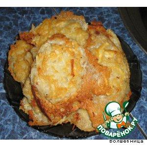 Рецепт: Драники картофельные