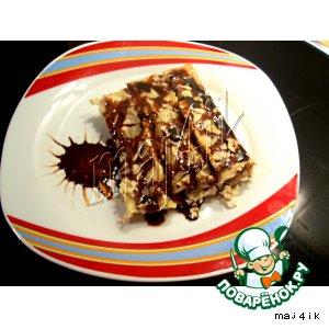 Рецепт: Сладкие каннеллони на десерт