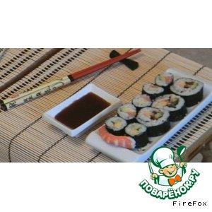 Рецепт: Традиционные толстые роллы Футомаки