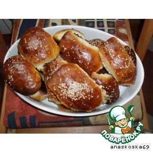 Рецепт: Пирожки с мясом