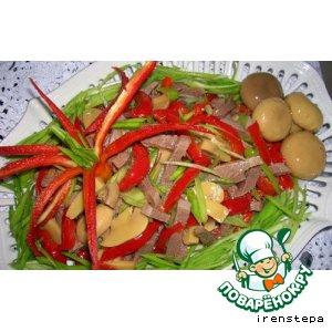 Рецепт: Салат изумительный