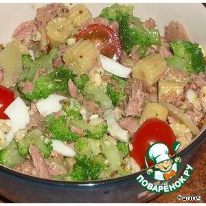 "Рецепт: Салат в стиле ""Нисуаз"""