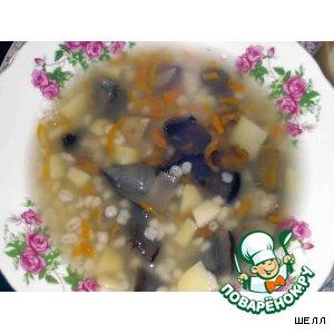 Рецепт: Самый вкусный грибной суп
