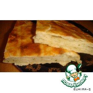 Рецепт: Слоeный хлеб