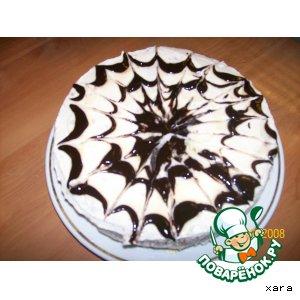 Рецепт: Ореховый тортик
