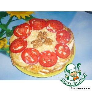 Рецепт: Тортик из кабачка