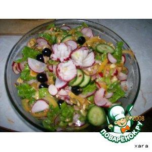 Рецепт: Марокканский салат