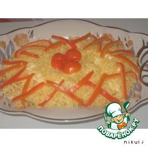 "Рецепт: Салат ""Лилия"""
