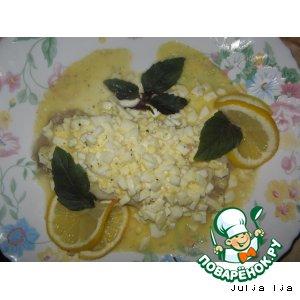 Рецепт: Морской окунь по-польски