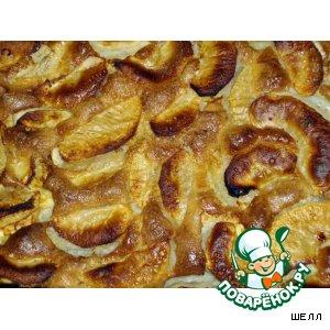 Рецепт Самый быстрый бисквит с яблоками